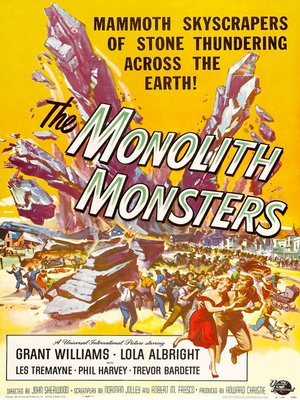 cover image of The Monolith Monsters