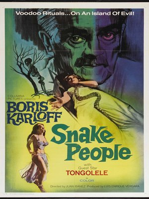 cover image of Snake People
