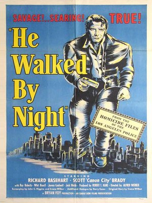cover image of He Walked By Night