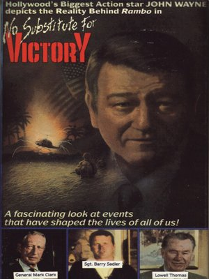 cover image of No Substitute for Victory