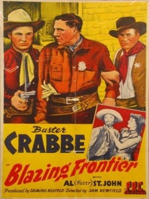 cover image of Blazing Frontier