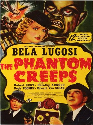 cover image of The Phantom Creeps, Volumes 1 & 2