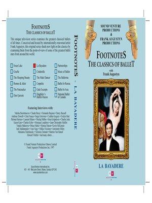 cover image of La Bayadère