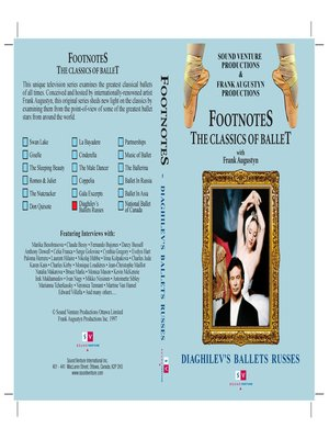 cover image of Diaghilev's Ballets Russes