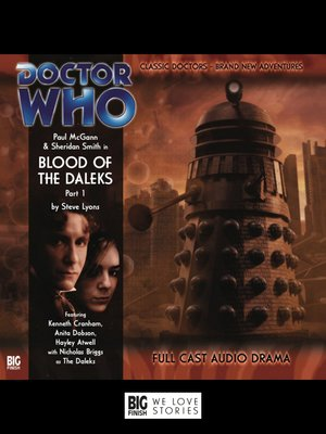 cover image of Blood of the Daleks Part 1