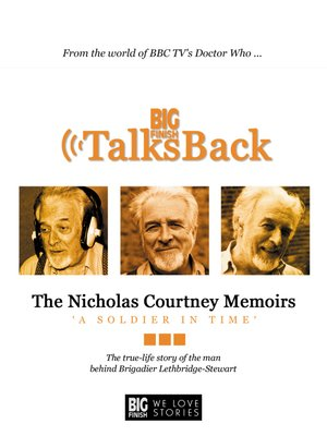 cover image of The Nicholas Courtney Memoirs