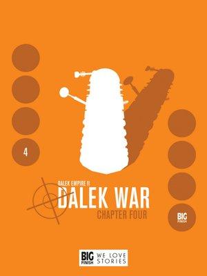 cover image of Dalek War Chapter 4