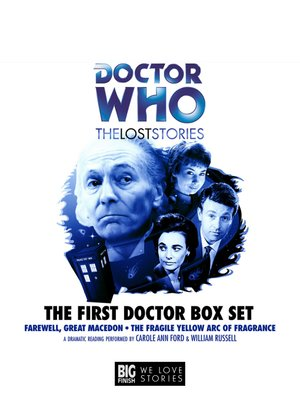 cover image of First Doctor Box Set