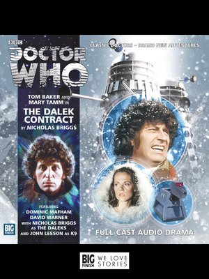 cover image of The Dalek Contract