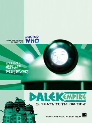 cover image of Death to the Daleks!