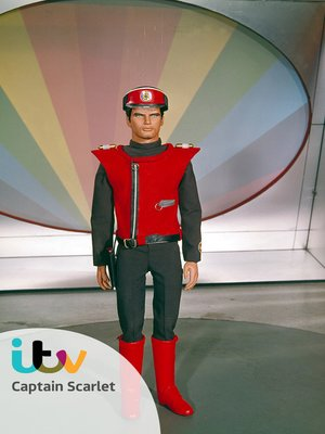 cover image of Captain Scarlet, Manhunt