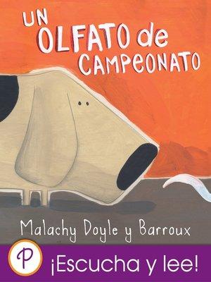 cover image of Un olfato de campeonato