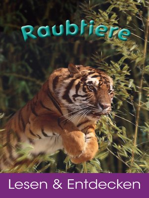 cover image of Raubtiere