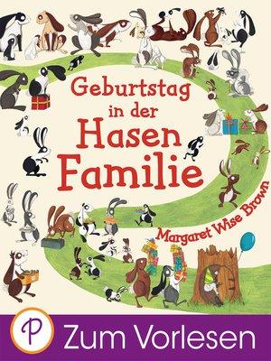 cover image of Geburtstag in der Hasenfamilie
