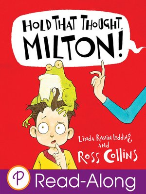 cover image of Hold That Thought, Milton!