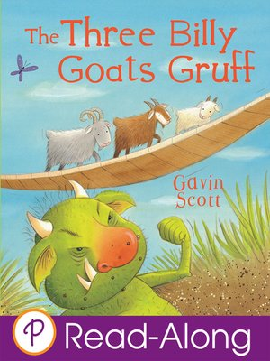 cover image of The Three Billy Goats Gruff