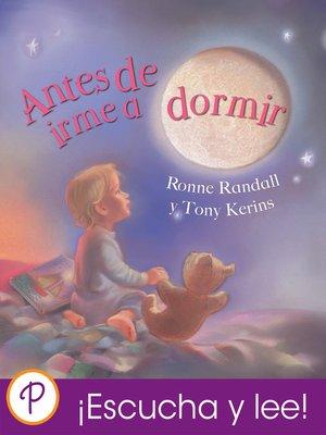 cover image of Antes de irme a dormir