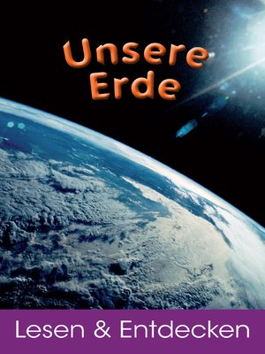 cover image of Unsere Erde
