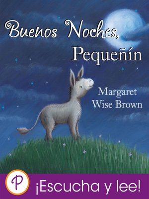 cover image of Buenas noches, pequenín