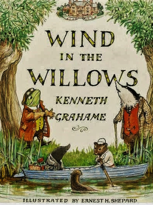 cover image of The Wind in the Willows by Kenneth Grahame