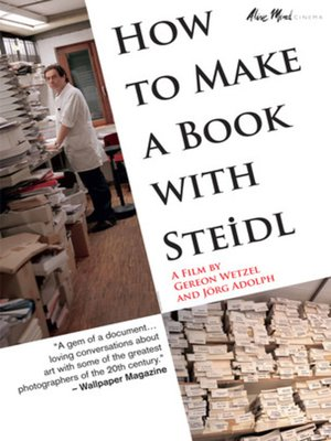 cover image of How to Make a Book With Steidl