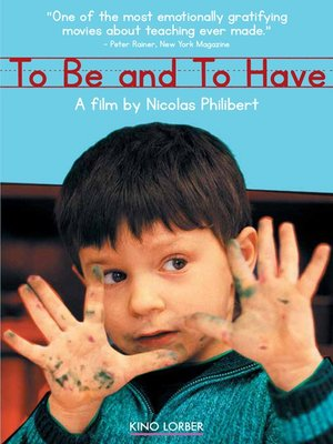cover image of To Be And To Have