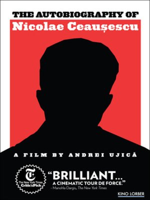 cover image of Autobiography of Nicolae Ceausescu