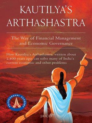 cover image of Kautilya's Arthashastra