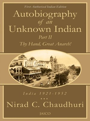cover image of Autobiography of an Unknown Indian, Part II