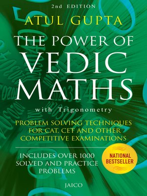 cover image of The Power of Vedic Maths