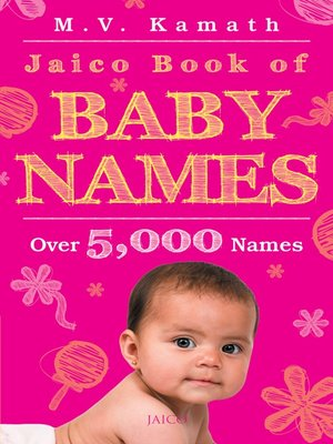 cover image of Jaico Book of Baby Names