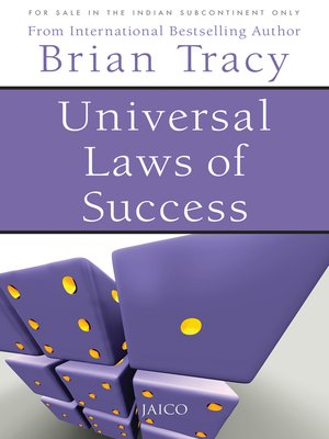 cover image of Universal Laws of Success