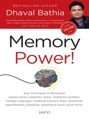 cover image of Memory Power!