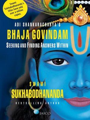 cover image of Adi Shankaracharya's Bhaja Govindam