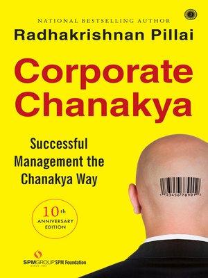 cover image of Corporate Chanakya