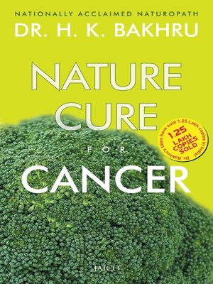 cover image of Nature Cure For Cancer