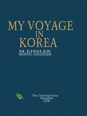 cover image of My Voyage in Korea