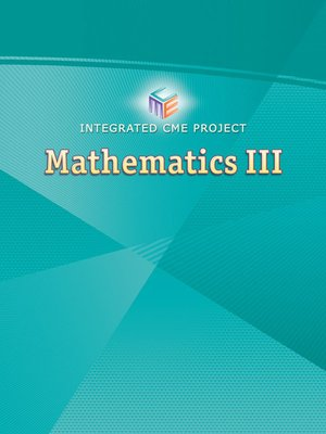Integrated CME Project Mathematics III by Pearson Learning Solutions ...