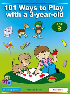 cover image of 101 Ways to Play with a 3-Year-Old
