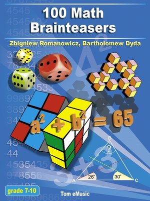 cover image of 100 Math Brainteasers