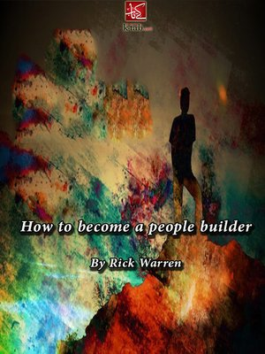 cover image of How to become a people builder
