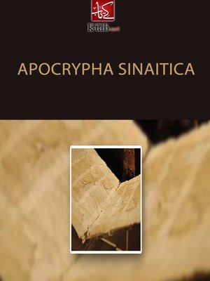 cover image of Apocrypha sinaitica