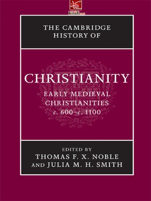 cover image of EARLY MEDIEVAL CHRISTIANITIES