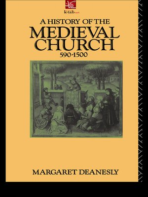 cover image of A History of The Medieval Church 590-1500