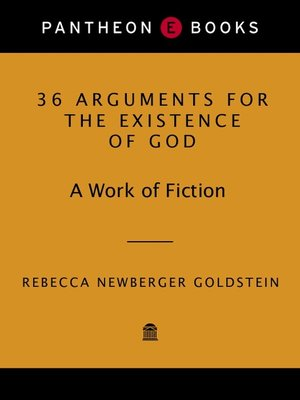 cover image of 36 arguments for the existence of god