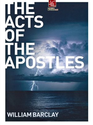 cover image of The Acts of the Apostles
