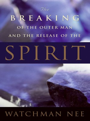 cover image of The Breaking of the Outer Man