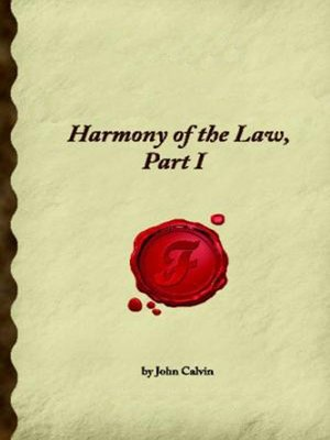 cover image of Harmony of the Law - Volume 1