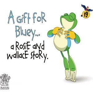 cover image of A Gift for Bluey