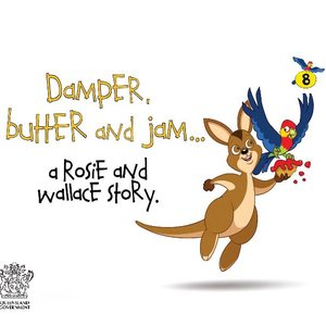 cover image of Damper, Butter and Jam